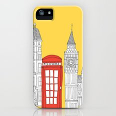 Capital Icons 4 // London Red Telephone Box Slim Case iPhone (5, 5s)