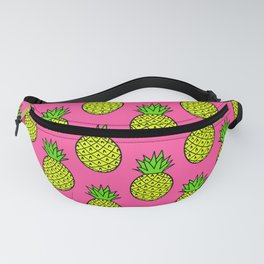 Candy Pink Pineapples Fanny Pack