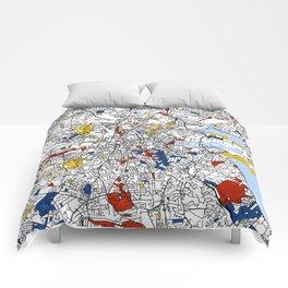 Dublin mondrian Comforters