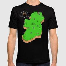Mario's Emerald  Isle Mens Fitted Tee Black MEDIUM