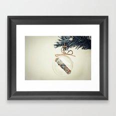 Christmas wish Framed Art Print