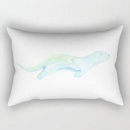 Les Animaux: Sea Otter Rectangular Pillow