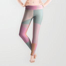Sweet Candy Pastel Shapes Leggings