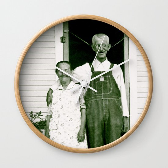 Frannie and Sylvester Wall Clock