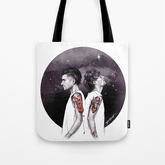 The Tiger and The Stag Tote Bag