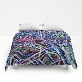 Eyes on a dancefloor Comforters