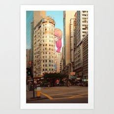 Wan Chai Art Print