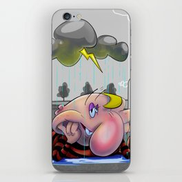 Why so glum, chum? iPhone Skin