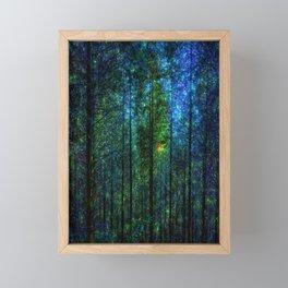 Mystery Forest Framed Mini Art Print