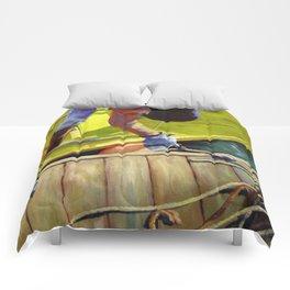 Tying Up Comforters