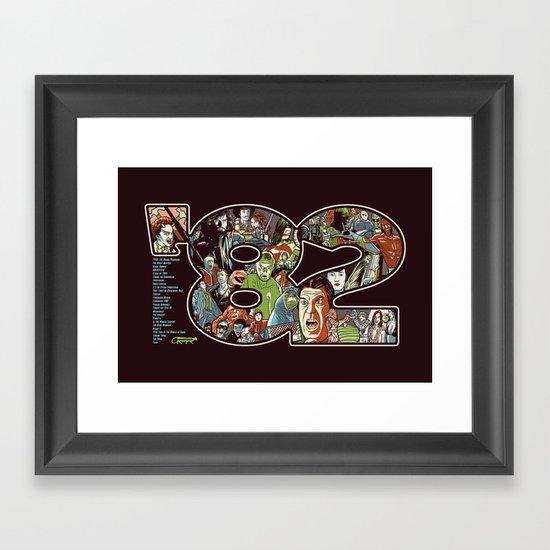 '82 Framed Art Print