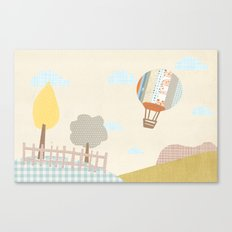 baloon collage Canvas Print