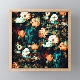 Vintage Floral Framed Mini Art Print