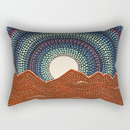 Topa Topa Mountains Rectangular Pillow