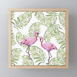 Flamingo  #society6 #buyart Framed Mini Art Print