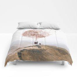 Flying Dandelion Comforters