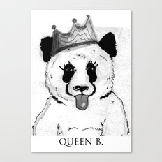 Queen B Canvas Print