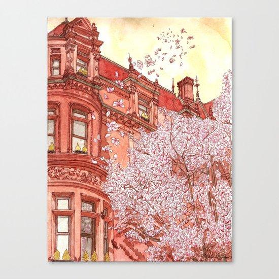 Bostonia Canvas Print