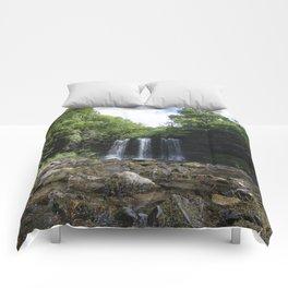 Sgwyd yr Eira Waterfall 1 Comforters