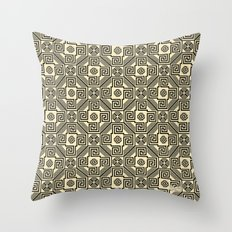 Kagome Fret Lattice. Throw Pillow