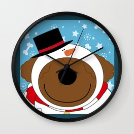 SnowWan Wall Clock
