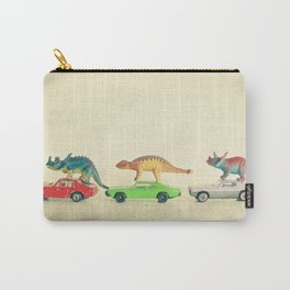 Dinosaurs Ride Cars Carry-All Pouch