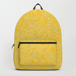 Solar Flare Molten Gold Abstract Backpack