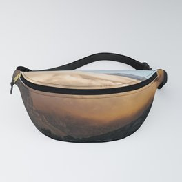 Crowned in clouds Fanny Pack