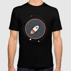 Rocket Black Mens Fitted Tee MEDIUM