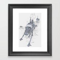 an even longer time ago Framed Art Print