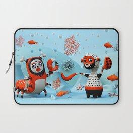 Dead Fish Laptop Sleeve