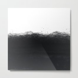 Surfacing - Abstract Art Series Metal Print