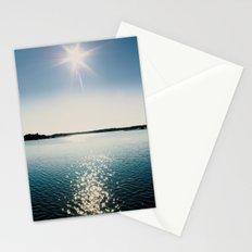 River Sparkles Stationery Cards