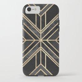 Geo Black Marble Dream iPhone Case