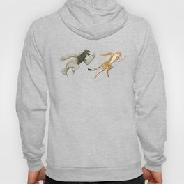 Cheetah Sloth Sprinter track and field sprint runner  sport Hoody