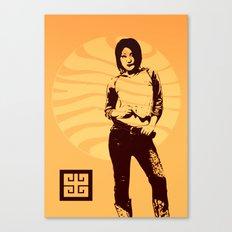 jean ad 3 Canvas Print