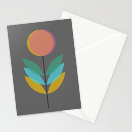 Overlap Flower Stationery Cards