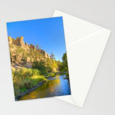 River and Cliffs Stationery Cards
