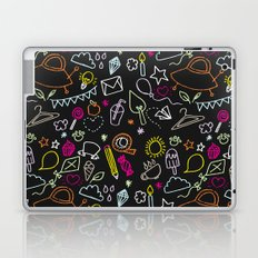 chalkboard doodles Laptop & iPad Skin