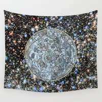 history Wall Tapestries featuring Hubble meets history. by anipani