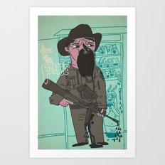 le police Art Print