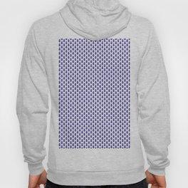 Indian Flowers Blockprint 1 (Dark Blue) Hoody
