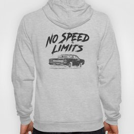 No Speed Limits Fast Tuned Engines Hot Rods Black Hoody
