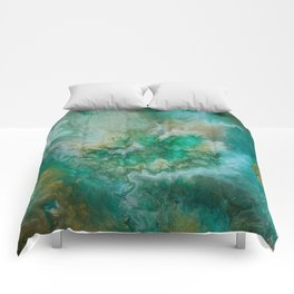 Dawning of a Galactic Planet Comforters