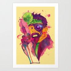 Dr. FraCryStein Art Print