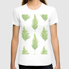 Fern seamless pattern. T-shirt