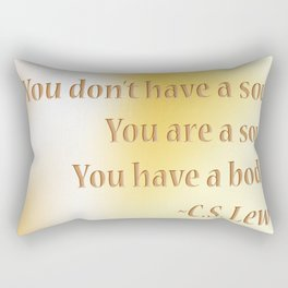 Shining soul Rectangular Pillow