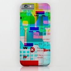 Glitch 002 iPhone 6s Slim Case