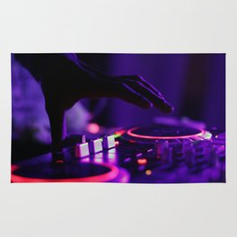 DJ Slapping The Decks Rug
