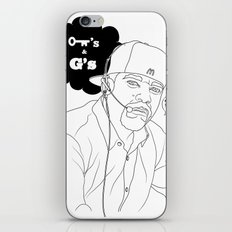 Kees & Gees iPhone & iPod Skin